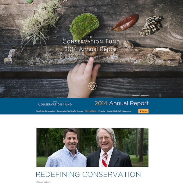 Conservation Fund Annual Report